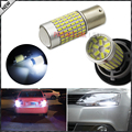 2pcs 1400 Lumens Super Bright 3014 Chipsets 1156 7506 P21W S25 LED Bulbs For car Brake, DRL, Turn Signal, Backup Lights Lamps