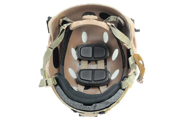 Base Jump Capacete esportes capacete de ciclismo Cordão preto DE