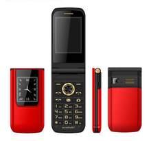 Flip touchscreen handy dual SIM FM MP3 player SOS Russische tastatur günstige GSM E9 handys Spanisch Französisch russische Telefon