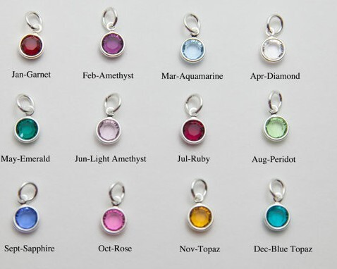 Keamsty crystal dangles with gold silver rings 12 months birthstone keamsty crystal dangles with gold silver rings 12 months birthstone charms for wiring bracelet necklace mixed colors 100pcslot in charms from jewelry aloadofball Choice Image