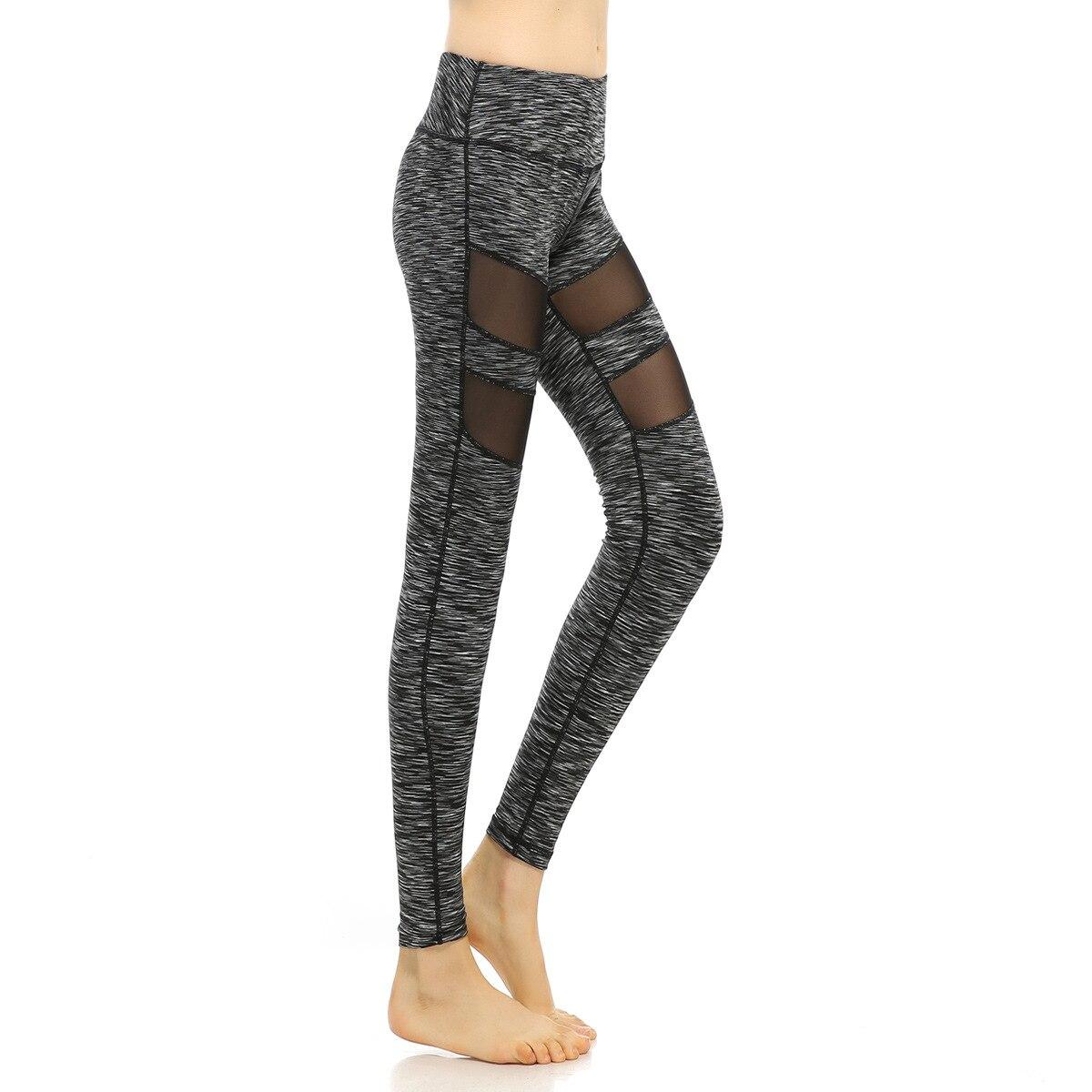 Women Yarn Fitness Leggings Sport Yoga Pants Gym Running