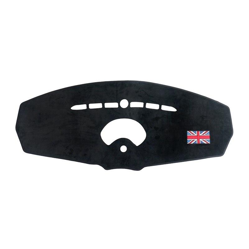 Tapis de tableau de bord de voiture éviter l'entraînement de sécurité léger housse de Protection Anti-éblouissement coussin pour Mini Cooper R55 Clubman R56 3 portes 2007-2013