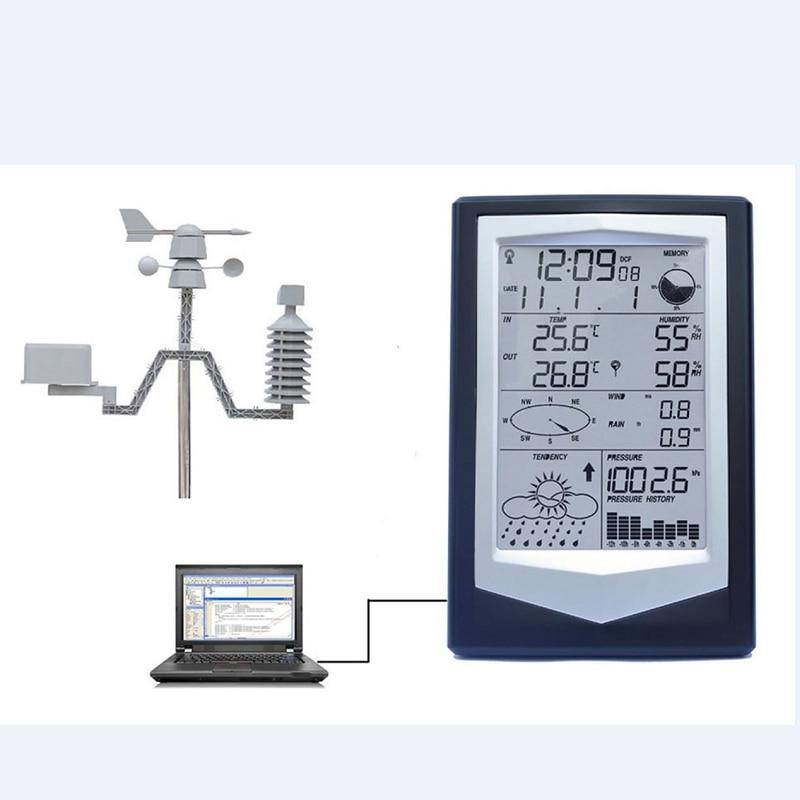 Vezeték nélküli meteorológiai állomás PC Link-rel Háztartási - Mérőműszerek - Fénykép 2