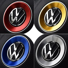 Интерьер автомобиля руль аксессуары для Volkswagen Golf 6 7 MK6 MK7 MK5 MK6 поло CC Passat TIGUAN 2011-2016