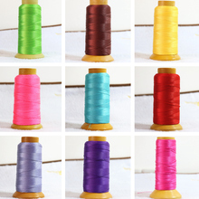 Free shipping high quality 18 color beads Nylon silk cord thread line 0.4mm fit diy chain necklace jewelry accessories B856