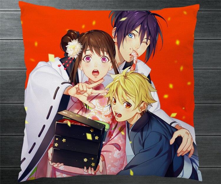 Anime Noragami Yato Hiyori Iki Yukine Fanart Dua Sisi 40x40 Cm Sarung Bantal Bantal Case Penutup Cosplay Manga Hadiah Tempat Tidur Sofa Mobil Dekorasi Anime Costumes Aliexpress