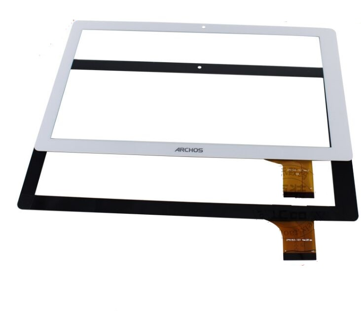 Original White New 10.1 inch Archos 101d Neon Tablet touch screen panel Digitizer Glass Sensor replacement Free Shipping white 7 inch touch screen digitizer glass sensor panel replacement for archos 70b xenon tablet free shipping