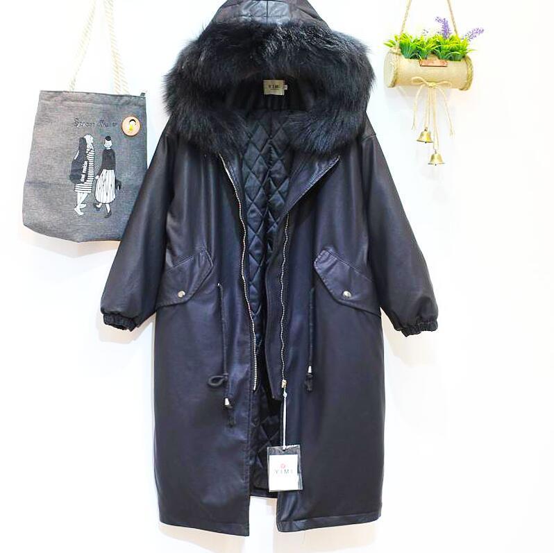 Women Winter Coats Keep Warm Outerwear Loose Big Collar Fur Coats Lady Outerwear