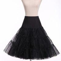 Retro Vintage Tutu Skirt Silps Swing Rockabilly Petticoat Underskirt Crinoline Fluffy Pettiskirt For Wedding Bridal Women