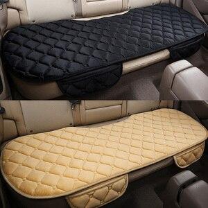 Image 1 - 自動車後部座席クッションカーシート入り江プロマットフィットほとんどの車非暖冬豪華な保つベルベットシートバックパッド