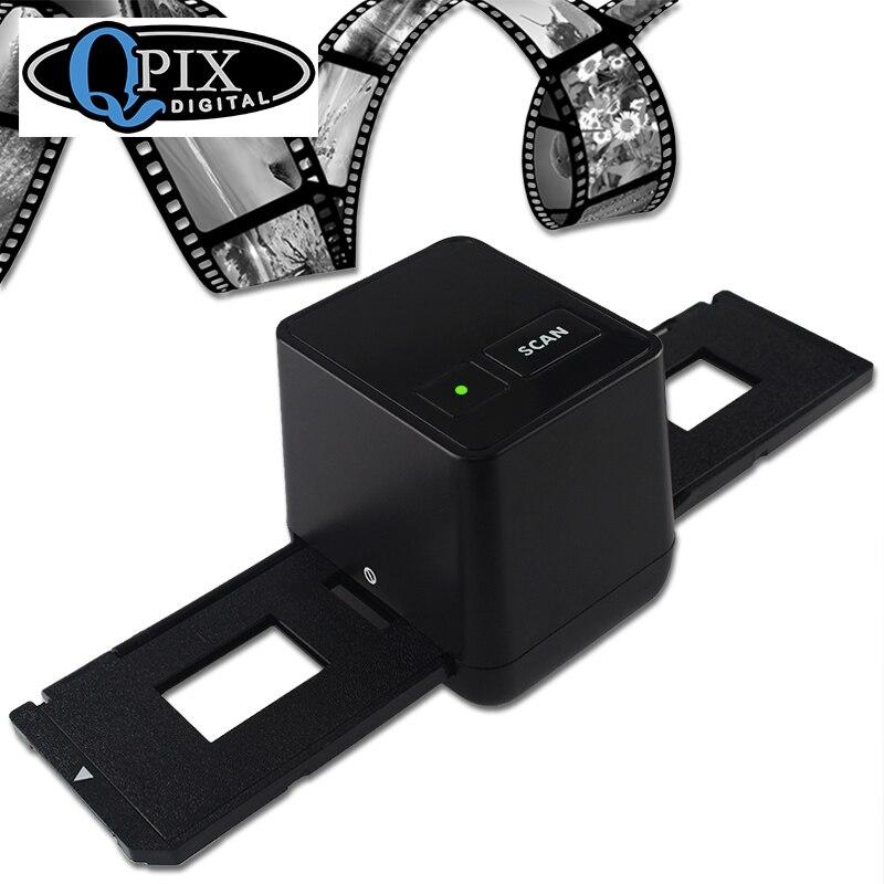 Alta Risoluzione Film Scanner Scansione E Catturare 17.9 Mega Pixel 135 Slide e Film Converter 35mm Scanner per Pellicole Negative