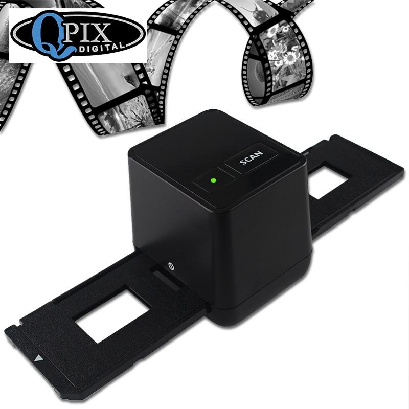 Alta resolución escáner de película Escaneo y captura 17,9 Mega píxeles 135 diapositivas y convertidor de película 35mm escáner de película negativa