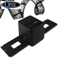 Free Shipping High Resolution Scanning And Capture Photographs Film Negatives 35mm Slides USB Scanner Black Color