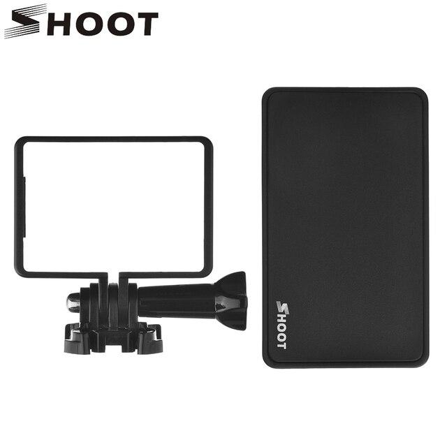 SHOOT Оригинальный BacPac Экран Разъем Адаптера Для GoPro Hero 4 3 + Жк-Монитор Камеры Selfie Конвертер Go Pro Аксессуары