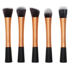 Image 3 - 1 small waist makeup brush small waist long aluminum tube 1 sets makeup brush single makeup brush beauty makeup tools
