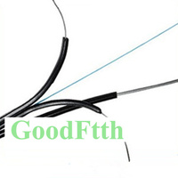 GoodFtth Optic Outdoor Self support Drop Cable SM G657A 1 core Black LSZH 5.0x2.0mm 1 5km