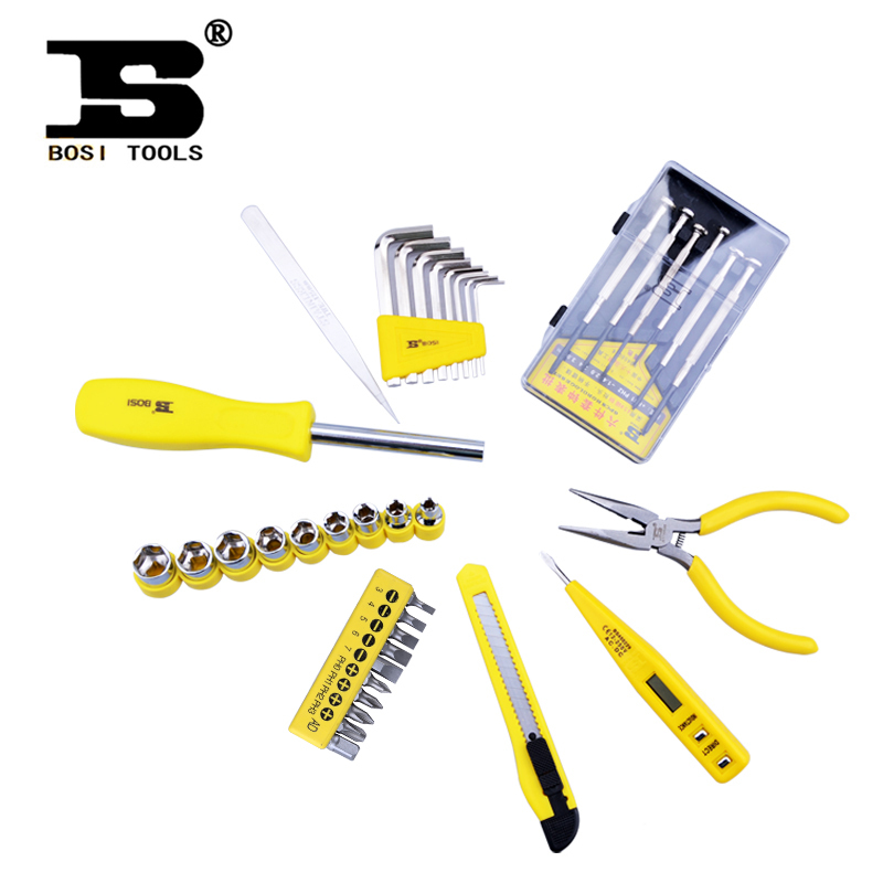 ФОТО [National free shipping] Persian tool 38 Gift Set Multifunction Tool Kit Kit BS-J938