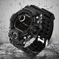 2017 Военные Электронные Наручные Часы Спорт Лучший Бренд Санда Цифровые Наручные Часы Мужчины G Стиль Шок Часы Водонепроницаемый Противоударный