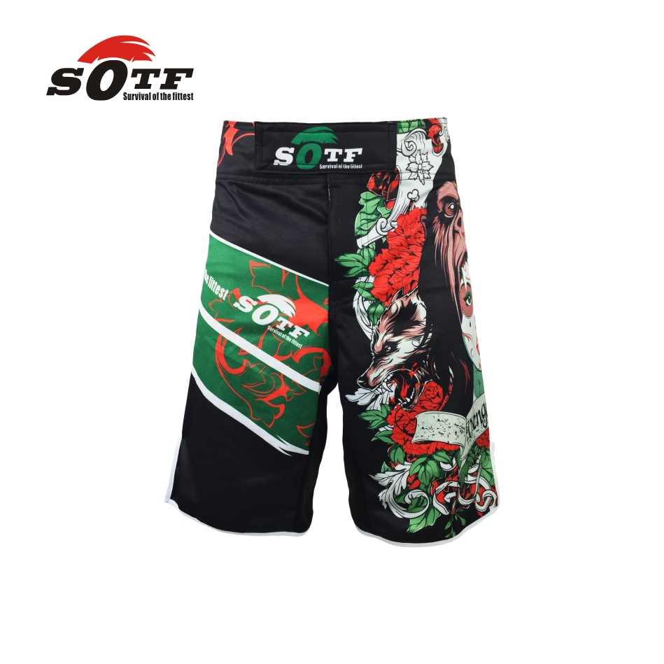 Sotf mma boxe muay thai kick pretorian shorts mma crossfit shorts kick boxing shorts mma barato brock lesnar kick boxing