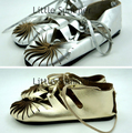 Girl shoes 2015  new summer  Baby girls sandals genuine leather  Moccasins  kids shoes Ankle Strap Flat sandals for girls