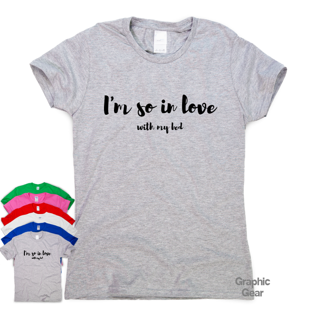 50b42e20 I'm So In Love funny T shirt humour mens gift womens sarcastic tee slogan  top