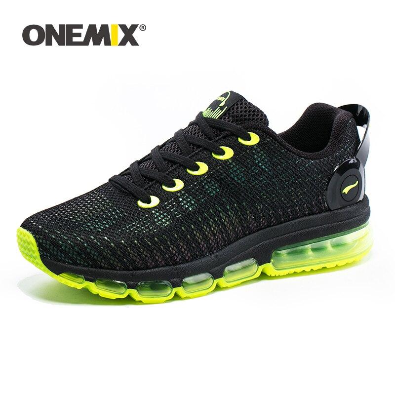 Onemix Unisex Running Shoes For Men Breathable Brand Sneakers Men Sport Shoes Men Reflection Shoes Run