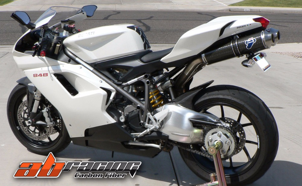 Hugger For Ducati 848 1098 1198 Full Carbon Fiber 100 Twill In