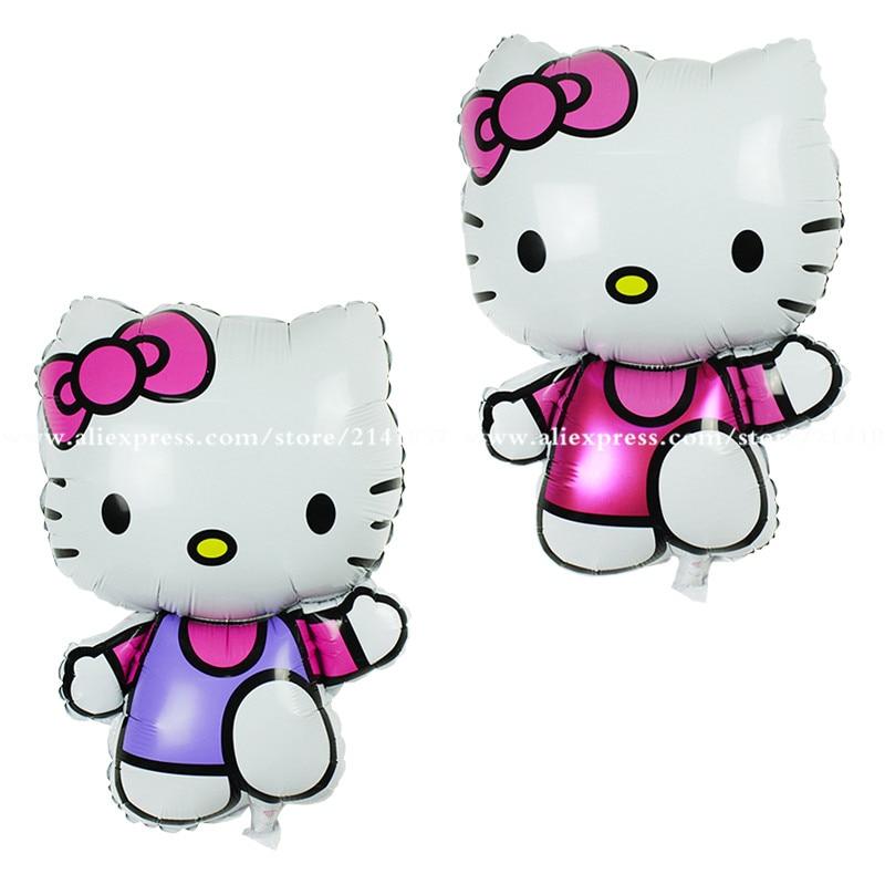 Large Size Hello Kitty Cat Foil Balloon Medium Cartoon Kt