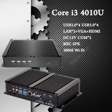 Micro PC Intel Core i7 i5 4200U i3 4010U 5550U HTPC 4 К HD Linux XBMC Kodi DHL Бесплатная Доставка 3 Лет Гарантия на usb Mini PC usb 3.0