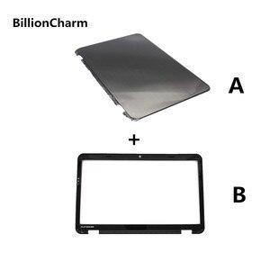 Image 2 - BillionCharm Yeni Dizüstü Alt Taban Vaka DELL Inspiron 15R N5110 M5110 LCD arka kapak/LCD ekran ön çerçeve Siyah