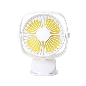 Image 1 - Mini Usb Desktop Fan Two Way Rotary 360 Degrees Portable Mini Desktop Cooling Fan Personal Quiet Fan