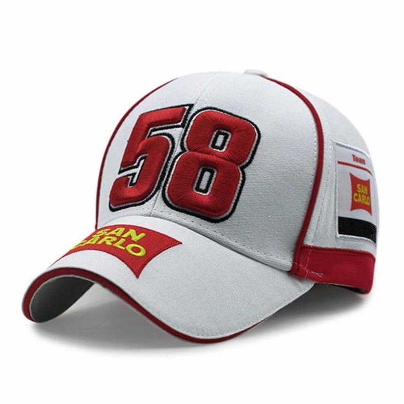 Memento Moto Gp Motorfiets Italian Racer 58 Simoncelli San Carlo Baseball Cap Hiphop For Men Leisure Gorras Snapback Hats