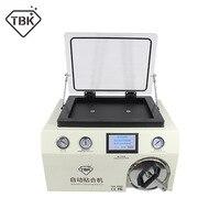 TBK 408A 15 дюймов вакуумный насос ЖК дисплей ОСА ламинатор противопузырьковая камера в одном машина для смартфонов Сенсорный экран отреставри