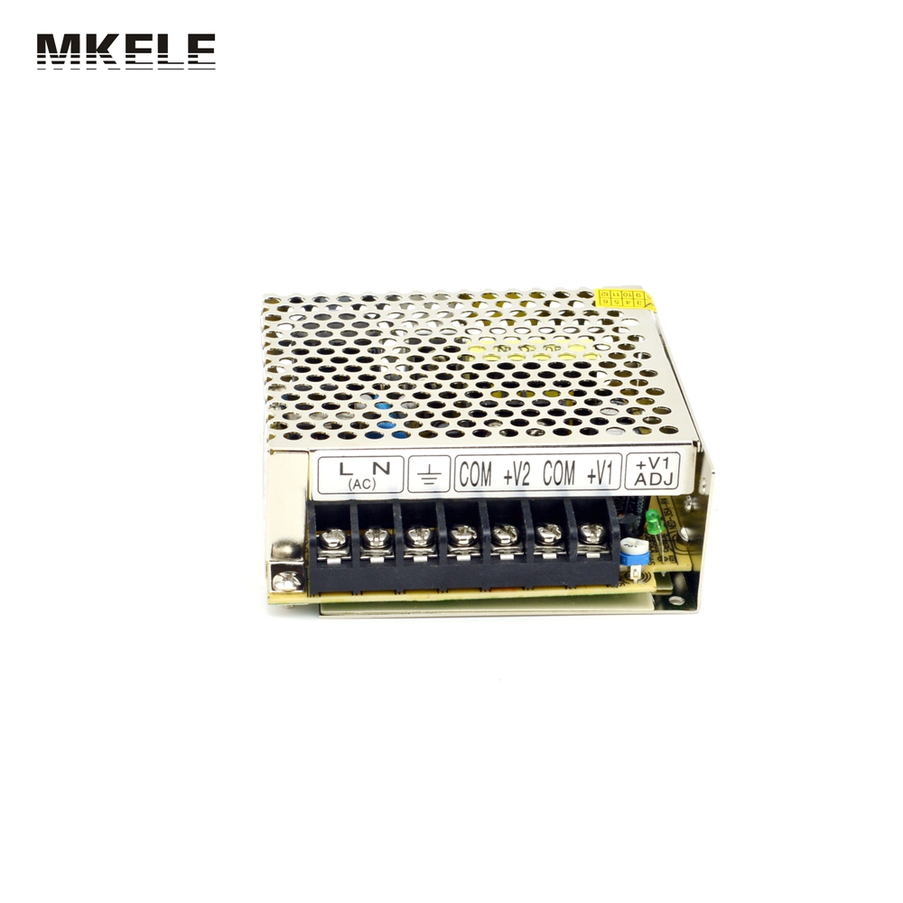 High Quality Double Voltage 100-240Vac Input ,5V/12VDC 2 Port Output Power Supply , 32W Driver CE UL NED-35A China