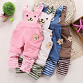 Free shipping 2017 baby cotton casual overalls,children baby boys and girls  infant jumpsuit