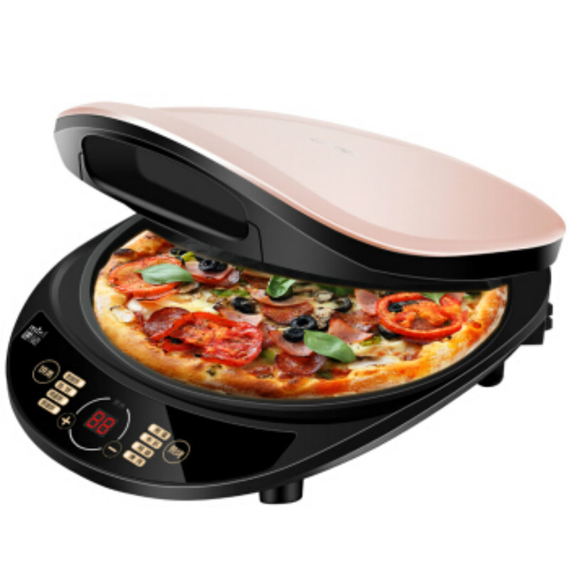 220V Midea Electric Crepe Maker Pancake Machine Pizza jiqi stainless steel electric crepe maker plate grill crepe grill machine