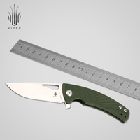 Kizer Bushcraft Knife V4484A2 VG10 Blade Tactical Folding Knives Survival High Quality Hand Tool