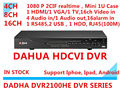 dahua dvr  4ch 8ch 16 CH d1 mini 1u 1sata up to 4TB dahua dvr hdmi VGA output  4 Audio in 1 Audio out p2p standalone DVR 2100HE