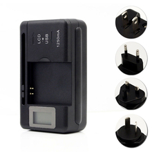 Mobile Battery Charger Universal LCD Indicator Screen USB-Po