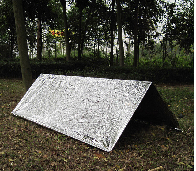 Emergency tent emergency shelter Survival Rescue tent C&ing equipment shelter Emergency Sun shelter Blanket 1pc & Emergency tent emergency shelter Survival Rescue tent Camping ...
