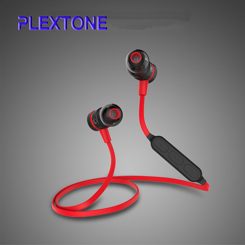 Wireless Earphones Hands-free CSR 4.1 Bluetooth Headset For IPhone Samsung Xiaomi Smart Phone (Magnet Adsorption Control Switch)