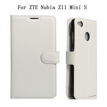 For ZTE Nubia Z11 Mini S Case Luxury Flip Leather Cell Phone Case For ZTE Nubia Z11 Mini S Book Style Leather Stand Cover Fundas