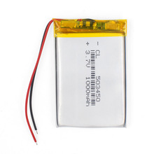 503450 37V 1000mAh Lithium Polymer LiPo Rechargeable Battery li ion cells For Mp4 GPS DVD PAD electric toys camera recorder