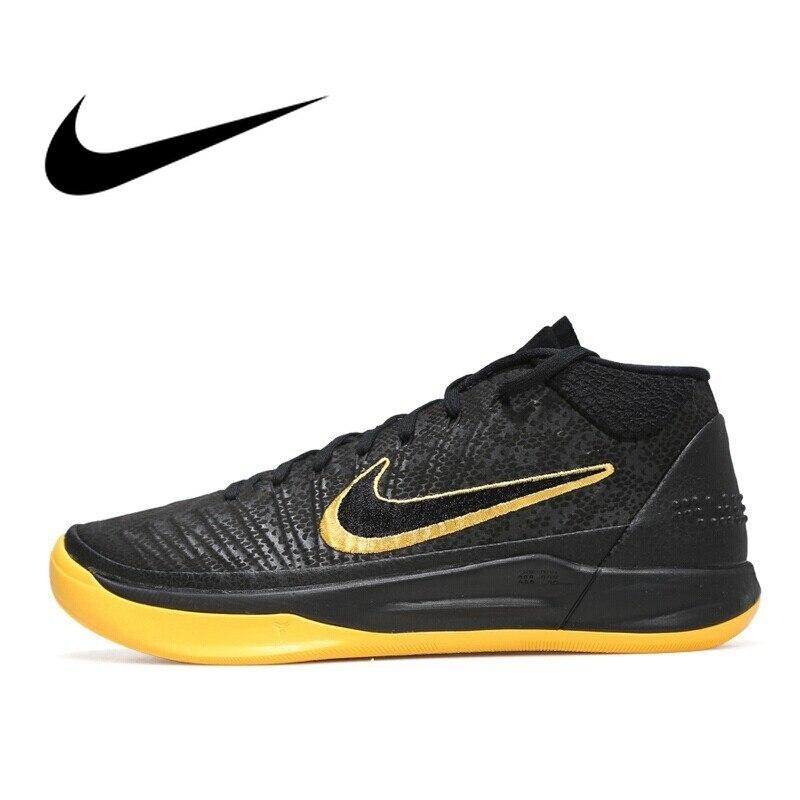 Sporting Original 2018 Nike Männer Basketball Schuhe Kobe Atmungsaktive Lace-up Outdoor Sport Schuhe Bequeme Turnschuhe Durable Aq5163 Ausgezeichnet Im Kisseneffekt Basketball-schuhe Sport & Unterhaltung