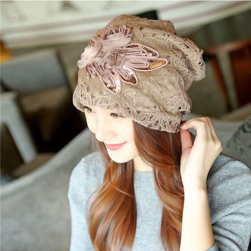 2017 New Butterfly-knot Cap Fashion Roses