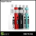 Оригинальные Электронные Сигареты Комплект Пара Шторм V80 с 80 Вт Жидкостью Vape МОДА и 4.5 МЛ ЕС II Танк не включают 18650 батареи электронная сигарета