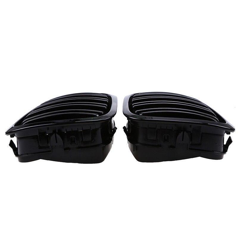 Grille de calandre remplacer les accessoires pour 98-01 BMW E46 2 portes 2D Coupe Gloss Dual