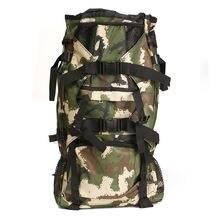 80L Camouflage Backpack Nylon Rucksack Outddoor Padded Shoulder Bag Luggage Knapsack Pack for Sports Camping Hiking outdoor bag