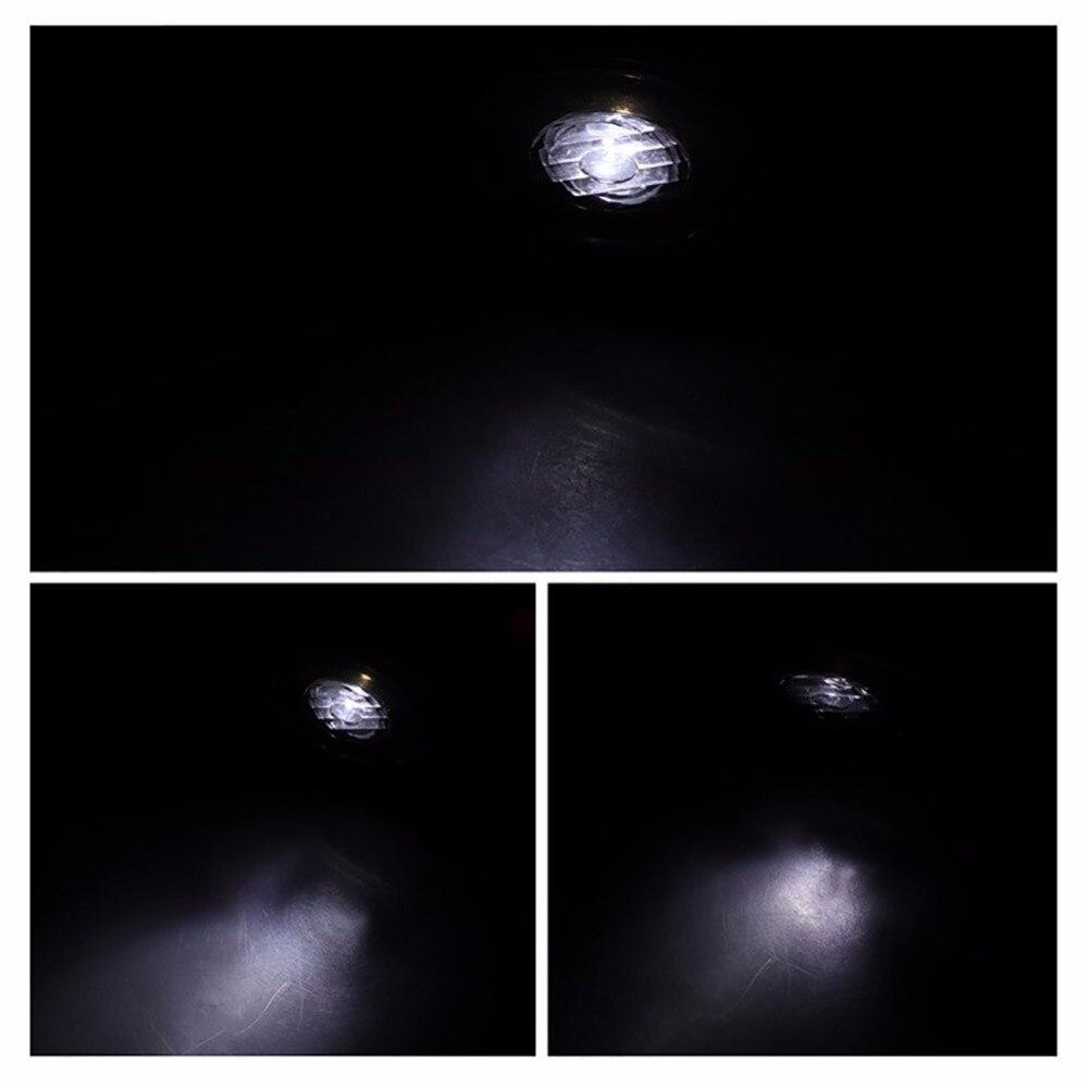 Открытый Спорт Бег огни Открытый свет ночного Открытый фонарик Аварийные огни USB зарядка груди лампа белый свет факела