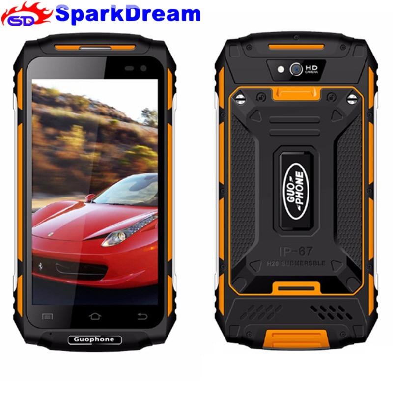 2018 Nouveau D'origine Guophone X2 5500 MAH 5.0 Pouce Android 6.0 GPS MTK6737 Quad Core 2 GB RAM 16 GB ROM 8MP 3G WCDMA LTE Land Rover X2